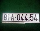 Dùng giấy tờ, biển số xe ô tô giả mang cầm đồ lấy 300 triệu
