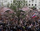 Nga: Biểu tình lớn tại nhiều thành phố, thủ lĩnh đối lập bị bắt