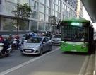 Hà Nội làm dải phân cách cứng phục vụ buýt nhanh BRT