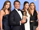 """Mê mẩn ngắm nhan sắc 3 con gái """"Rambo"""" Sylvester Stallone"""