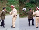Người vi phạm dọa đánh CSGT bằng mũ bảo hiểm
