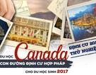 Hướng dẫn định cư hợp pháp tại Canada bằng con đường du học