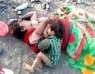 Hình ảnh em bé bú sữa mẹ đã chết khiến cư dân mạng rơi nước mắt