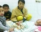 Hai con bơ vơ khi cha tai nạn liệt giường, mẹ bị bệnh máu trắng