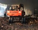 Cháy dữ dội tại xưởng gỗ, 2 công nhân tử vong