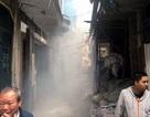 Hà Nội: Náo loạn vì hỏa hoạn trong ngõ nhỏ
