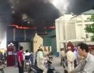 Cháy lớn tại Công ty thiết bị điện Tiền Hải