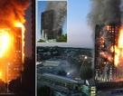 Cận cảnh tòa nhà 24 tầng bị thiêu rụi trong biển lửa tại Anh