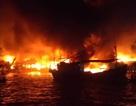 Hàng chục nhà chồ ở Nha Trang cháy dữ dội trong đêm