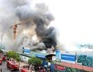 Hiện trường vụ cháy dữ dội gần tòa nhà Keangnam