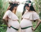 Hai chị em ruột chia sẻ niềm hạnh phúc khi cùng mang thai