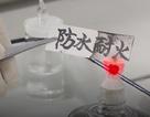 Trung Quốc sáng chế ra giấy chống lửa và nước