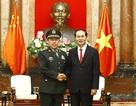 Chủ tịch nước tiếp Phó Chủ tịch Quân ủy Trung ương Trung Quốc
