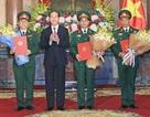 Chủ tịch nước trao quyết định thăng quân hàm 2 Thượng tướng