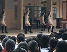 Báo cáo Bộ GD&ĐT vụ sinh viên biểu diễn phản cảm trong trường cấp 3