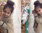 """Bé gái dễ thương trong siêu thị làm """"khuynh đảo"""" cộng đồng mạng"""