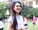 Sinh viên ĐH Hà Nội xả stress với đường chạy bột màu