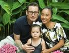 Con gái Đoan Trang ngày càng xinh đẹp với nét lai Tây