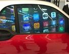 Tương lai cửa kính ô tô có thể trở thành màn hình tinh thể lỏng