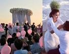 Hình ảnh đám cưới lãng mạn của Nguyệt Ánh tại biển Phan Thiết