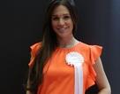Cựu hoa hậu Anh tái xuất thon gọn sau khi sinh đứa con thứ tư
