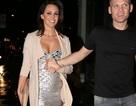 Cựu hoa hậu Anh rạng ngời khi mang thai lần 4