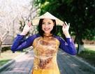 Đào Thị Hà tái xuất với áo dài sau tin đồn thi Hoa hậu Hoàn vũ 2017