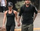 Vợ chồng Beckham đưa các con đi tập thể dục