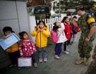 Ngôi trường đặc biệt cho trẻ em ở khu phi quân sự liên Triều