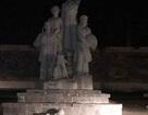 Đổ tượng đài chiến thắng ở Bắc Kạn, 1 cháu bé bị thương