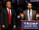 Con trai cả ông Trump nói gần như không liên lạc với cha