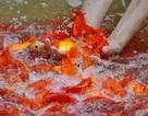 Chợ cá lớn nhất Hà Nội nhộn nhịp trước ngày ông Công ông Táo