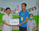 Hơn 110 triệu đồng đến với bé Ngọc Ánh 9 tuổi bị ung thư máu