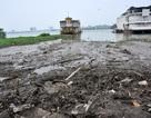 Góc Hồ Tây ngập rác sau khi tháo dỡ nhà hàng nổi