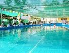 Khai trương hồ bơi di động trong trường học