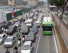 Hà Nội chính thức dựng dải phân cách cứng phục vụ buýt nhanh