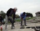 Hàng trăm người cưỡng chế phá bỏ nhà nổi Hồ Tây