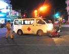 Nam thanh niên nguy kịch vì va chạm với xe cứu thương