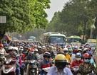 Sáng nay nhiều tuyến đường ở Sài Gòn kẹt cứng