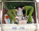 Bắt xe tải chở 10 tấn chất thải nguy hại về Hà Nội tái chế