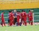 Đội tuyển Việt Nam tập kín trước trận gặp Jordan