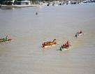 Sôi nổi đua thuyền trên sông Hàn mừng lễ Quốc khánh