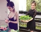 Thích mê vườn rau ban công của người đẹp nóng bỏng nhất nhì showbiz Việt