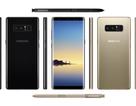 Galaxy Note 8 lộ ảnh: Camera kép và cảm biến vân tay mặt sau