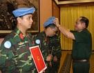 3 sĩ quan Việt Nam lên đường làm nhiệm vụ gìn giữ hoà bình Liên hợp quốc