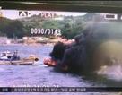 Tàu tuần tra Hàn Quốc nổ dữ dội, ít nhất 1 người chết
