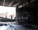Cháy lớn tại cơ sở sản xuất nệm trong khu dân cư