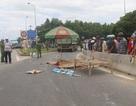 Tạm giam tài xế xe tải tông chết mẹ con tân sinh viên