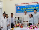 Bệnh viện Phụ sản - Nhi Đà Nẵng tiếp nhận máy thở kỷ thuật cao