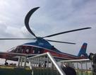 Đón khách đi Tân Sơn Nhất bằng trực thăng từ cao ốc trung tâm Sài Gòn